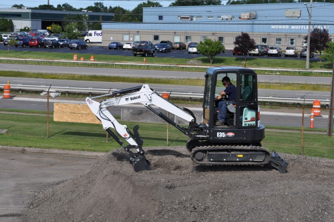 excavator rental new york
