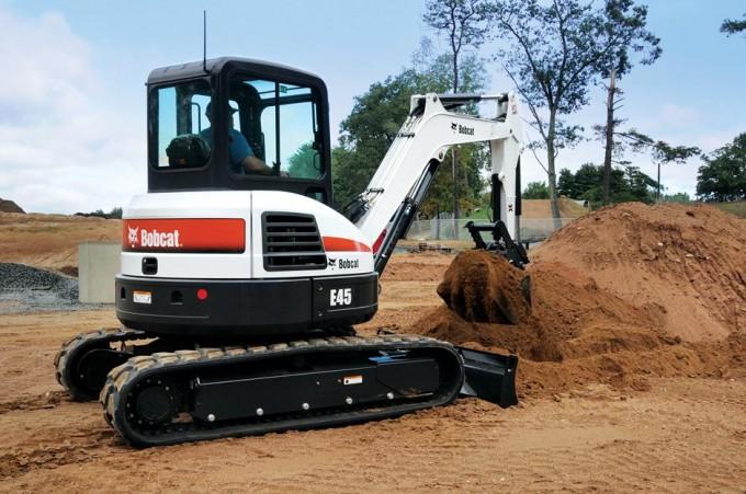 excavator e45 new york